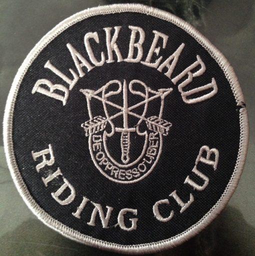 Blackbeard Riding Club Patch
